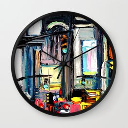 Faces of the City 132 Wall Clock
