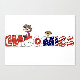 Evacomics Canvas Print
