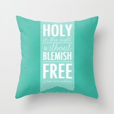 Colossians 1:21-22 Throw Pillow