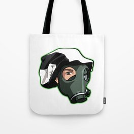 """Show your support """"Nothing Normal Here Logo"""" Tote Bag"""