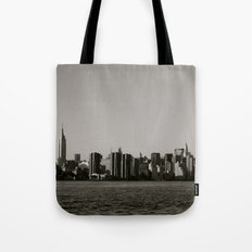 New York Skyline Tote Bag