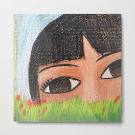 Crayon Metal Print