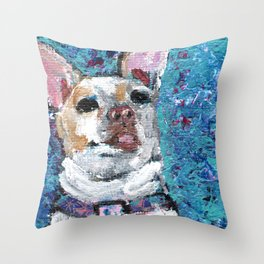 Lucy the Chihuahua Throw Pillow