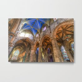 St Giles Cathedral Edinburgh Metal Print