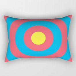 Target (Archery Design) Rectangular Pillow