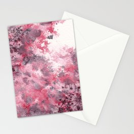 Watercolor Burst I Stationery Cards