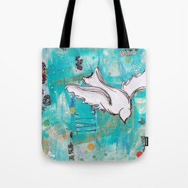Fly Home Tote Bag