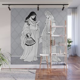 Roman Sisters Wall Mural