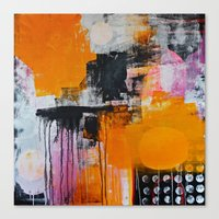 tokyo Canvas Prints featuring tokyo by Cathrin Gressieker
