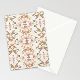 GEO NOMAD LINEN Stationery Cards