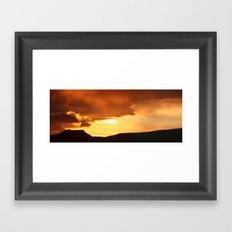 Sunrise April 12, 2012 Framed Art Print
