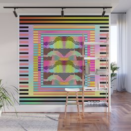 ABSTRACTION + LINES Pattern Design Wall Mural