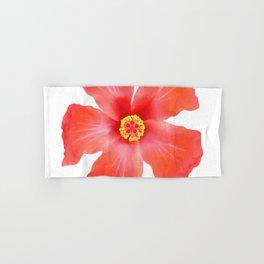 Tropical Hibiscus Flower Vector Hand & Bath Towel