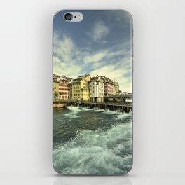 Weir of Lucerne iPhone Skin