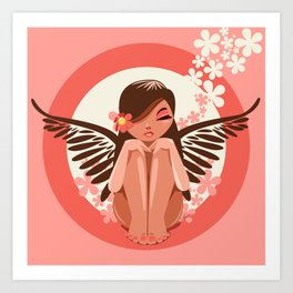 Flora Fairy Art Print