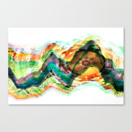Frequency Number Nine Canvas Print