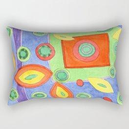 Drifting apart Rectangular Pillow