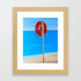 Maronti, Ischia Framed Art Print