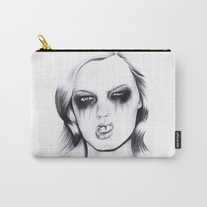 Metal. Carry-All Pouch