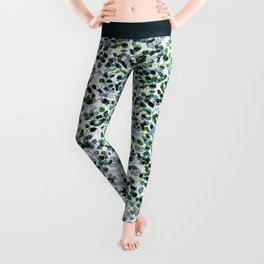 Synergy Blue and Green Leggings