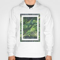 palm trees Hoodies featuring Palm Trees by Cody Rayn