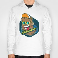 chewbacca Hoodies featuring Chewbacca Hipster  by Redwane