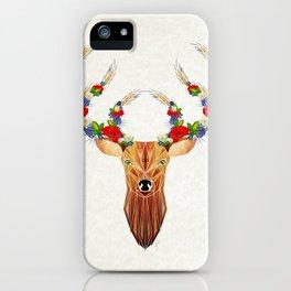 deer spring iPhone Case