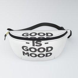 Good Food Is Good Mood Fanny Pack