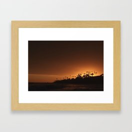 Beach of Life Framed Art Print