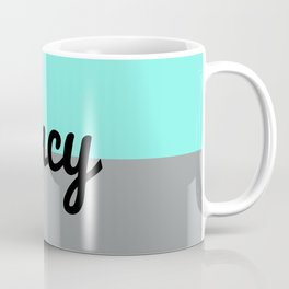 Two Tone Fancy Coffee Mug