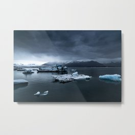 Patagonian Ice Field Metal Print