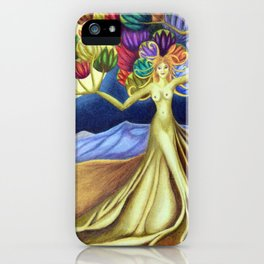 Grace in Full Bloom iPhone Case