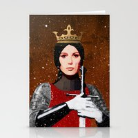queen Stationery Cards featuring Queen by Ed Pires