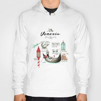 venice Hoodies featuring Venice by Volha