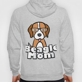 Beagle Mom Love Dog Mother's Day Gift Hoody