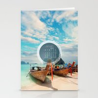 calendar Stationery Cards featuring CALENDAR JANUARY 4 by Ylenia Pizzetti
