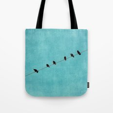 pretty little birds Tote Bag