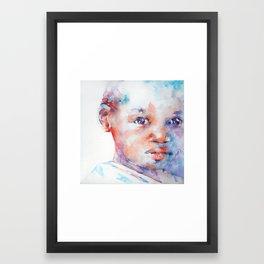 Through the eyes of a child . . .  Framed Art Print