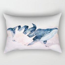 Magic Whale Rectangular Pillow
