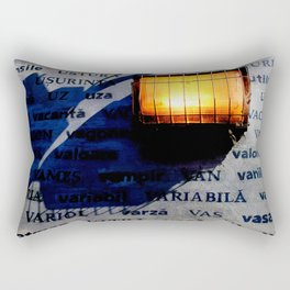 U - V Rays Rectangular Pillow
