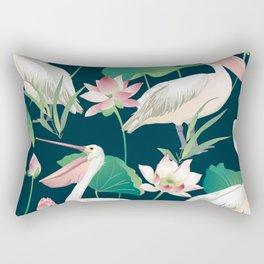 Flock of flamingo Rectangular Pillow