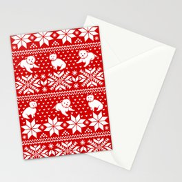 Fair Isle Westies Stationery Cards