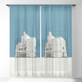 ODEON Balham Sheer Curtain