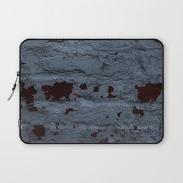 Textured Brick Blue Laptop Sleeve