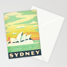 Sydney Australia Vintage Stationery Cards