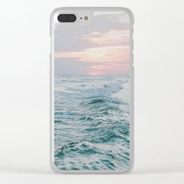 summer sunset xiii Clear iPhone Case
