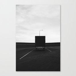 Truck Stop Canvas Print