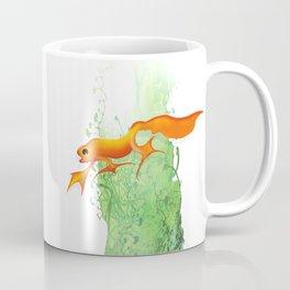 Orange Newt Coffee Mug