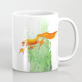 Orange Newt Coffee Mug