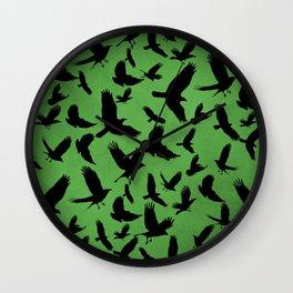 Morrigan's Murder Wall Clock